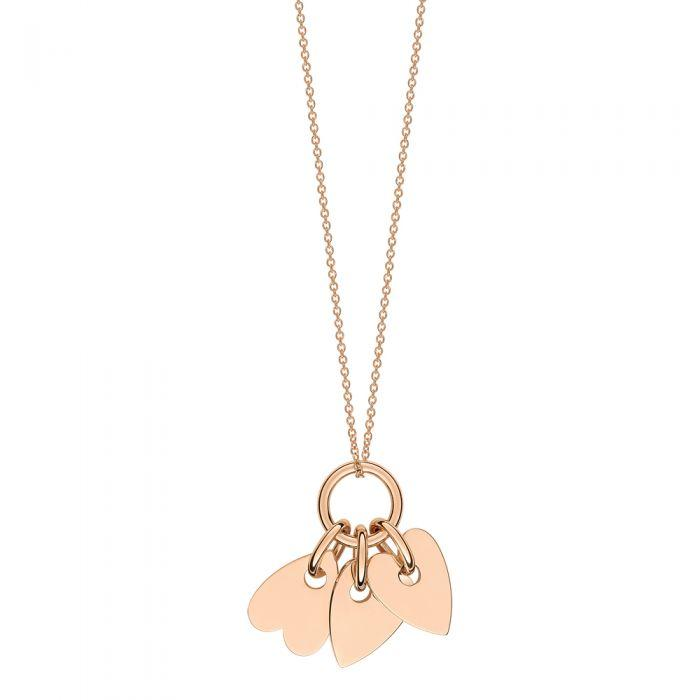 Ginette - ANGÈLE 3 MINI HEARTS ON CHAIN, Pendant
