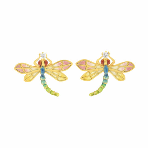 Masriera - Masriera dragonfly earrings, Earrings