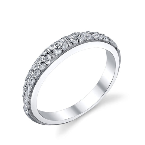 '456' Diamond Floral Band