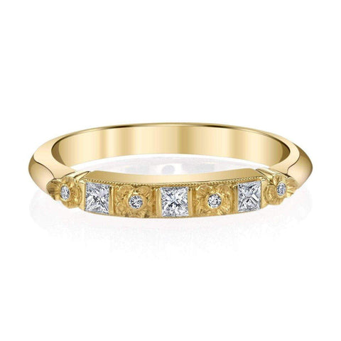 '558' Diamond Floral Band