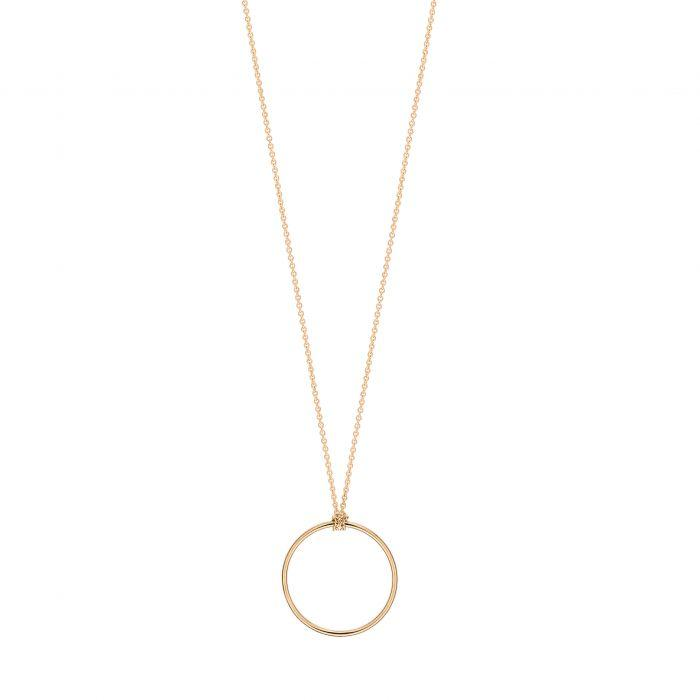 Ginette - mini circle on chain, Necklace
