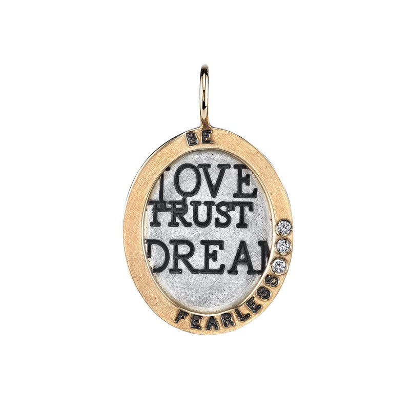 Heather B. Moore - Be Fearless Charm, Charm