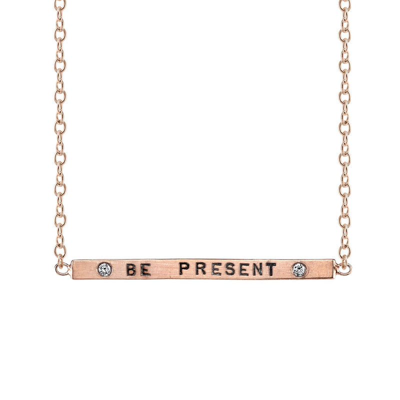 Heather B. Moore - Be Present Charm, Pendant