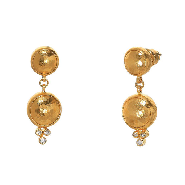 Gurhan Double Drop Earrings Earrings