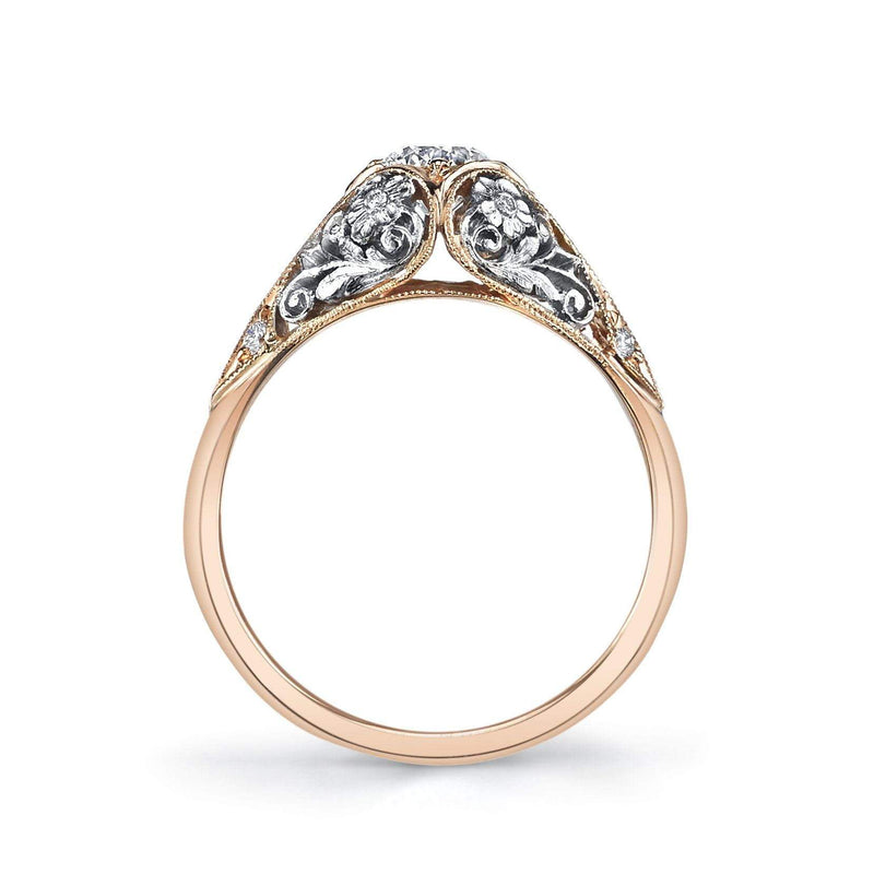 Van Craeynest - 1004' Floral Engagement Ring, Engagement Ring