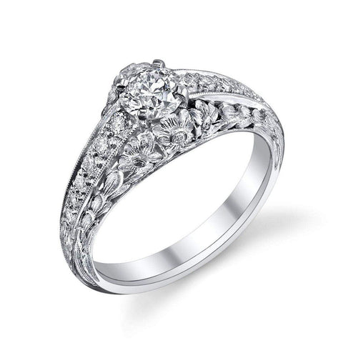 Van Craeynest '1007' Diamond Engagement Ring Engagement Ring