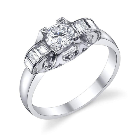 Van Craeynest - 124' Diamond Engagement Ring, Engagement Ring