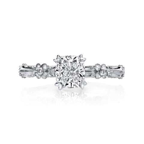 Van Craeynest - 810' Floral Engagement Ring, Engagement Ring