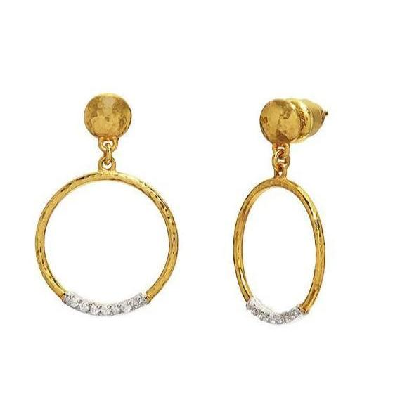 Gurhan - Geo Drop Earrings, Earrings