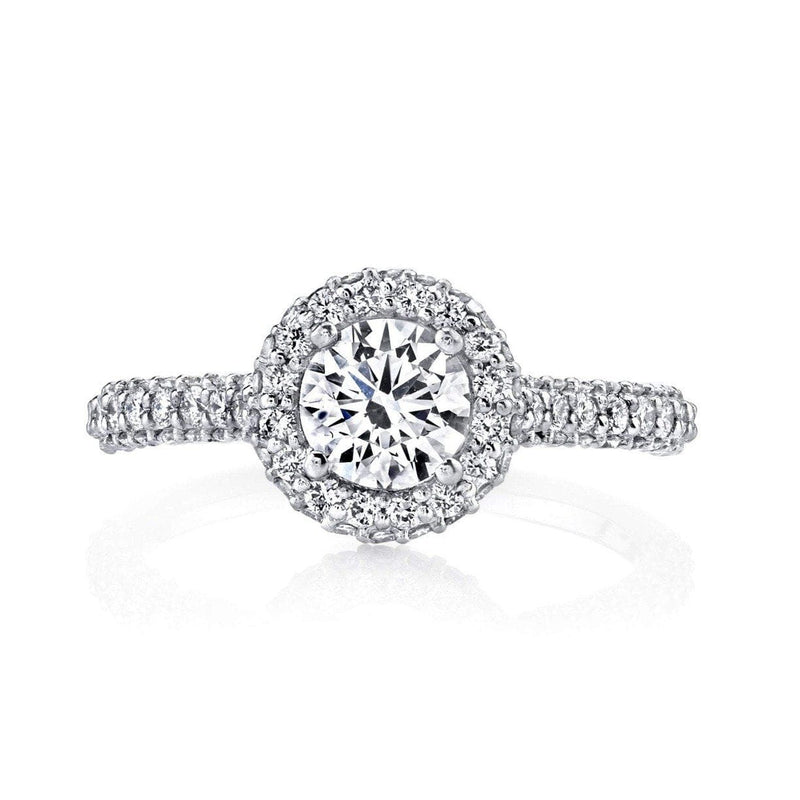 Emerson & Farrar - Halo Diamond Engagement Ring, Engagement Ring