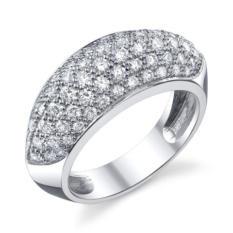 Pav  Diamond Ring