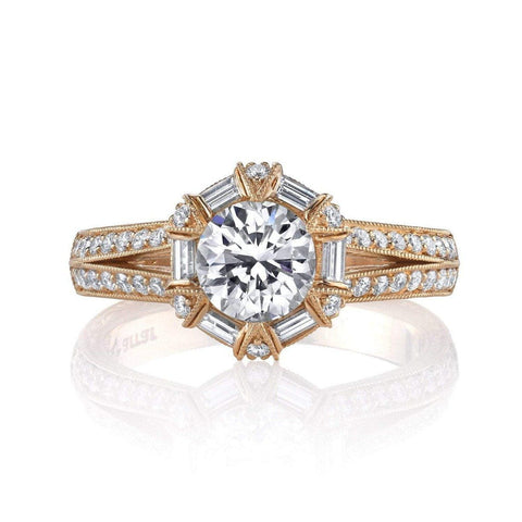 Emerson & Farrar Halo Engagement Ring Engagement Ring