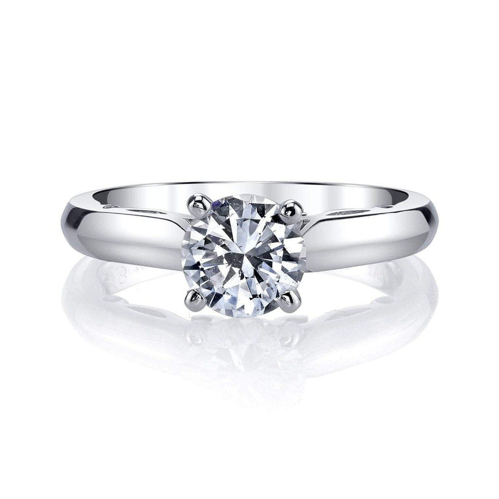 Emerson & Farrar - Solitaire Engagement Ring PT, Engagement Ring