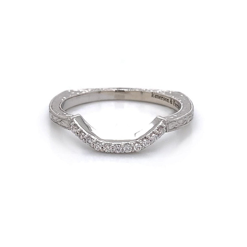 Emerson & Farrar - Form Fit Diamond Band, Ring