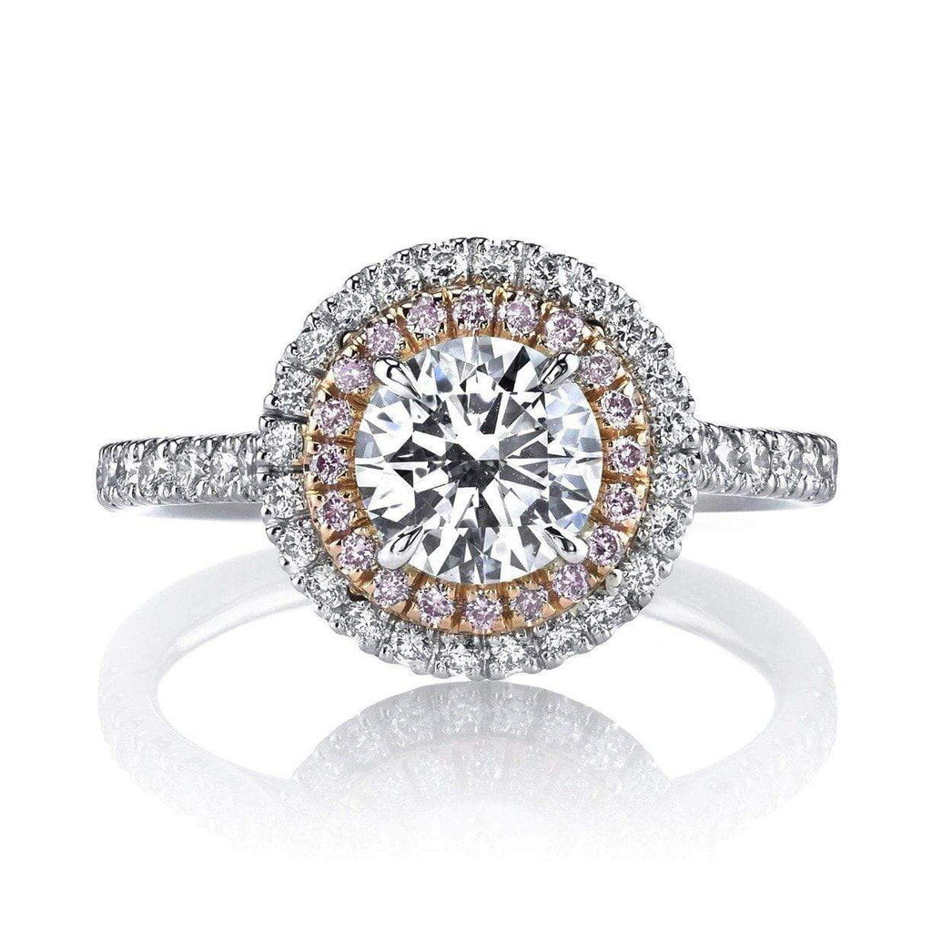 Emerson & Farrar - Double Halo Diamond Engagement Ring, Engagement Ring