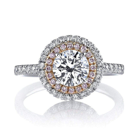 Emerson & Farrar Double Halo Engagement Ring Engagement Ring