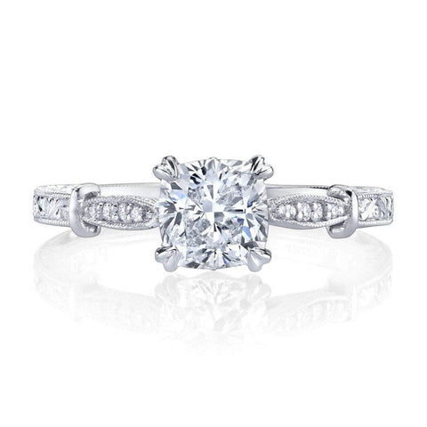 Emerson & Farrar - platinum Engagement ring, Engagement Ring