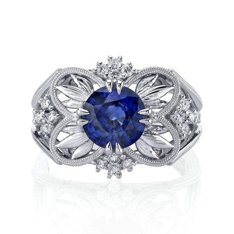 Emerson & Farrar Sapphire Engagement Ring Engagement Ring