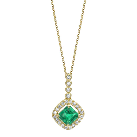 Emerald Drop Pendant