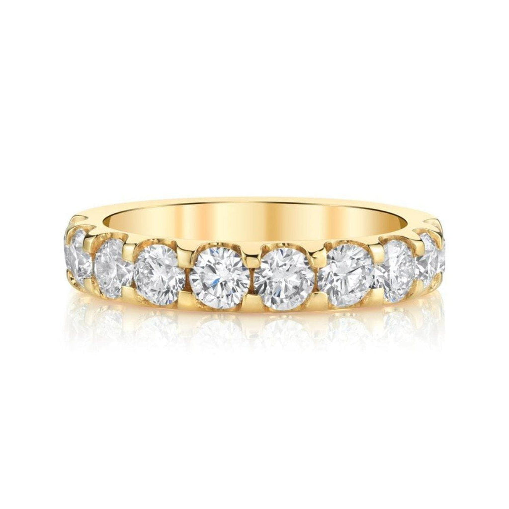Emerson & Farrar - Diamond Half-Eternity Band, Ring