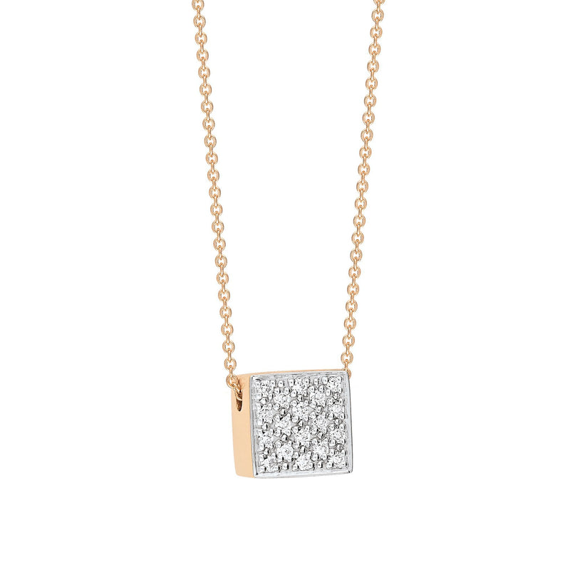 Ginette Baby Diamond Ever Necklace Pendant