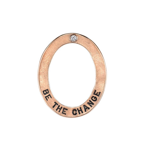"Heather B. Moore ""Be The Change"" Charm Charm"