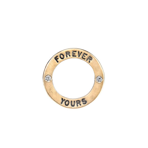 """Forever Yours"" Charm"