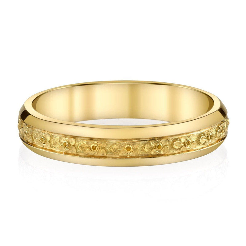 Van Craeynest - 1004' Blossom Band - 18K Yellow Gold, Band
