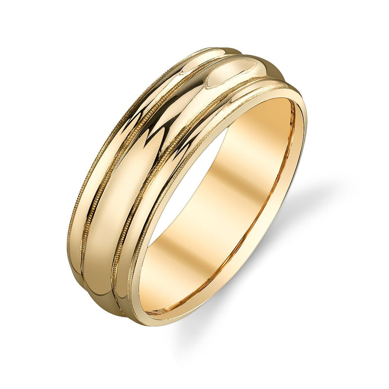 Van Craeynest - 996' Gents Band, Mens Wedding Band