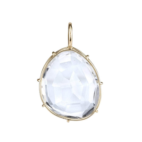 Heather B. Moore White Topaz Harriet Stone Charm