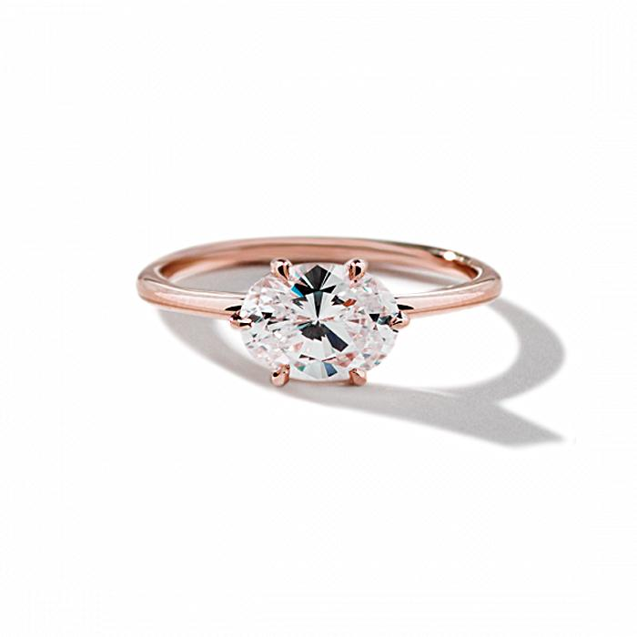 ILA - Oona Engagement Ring, Semi Mount