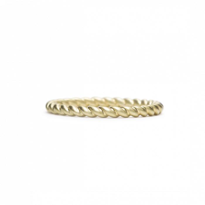 ILA Endless in Yellow Gold Band Ring