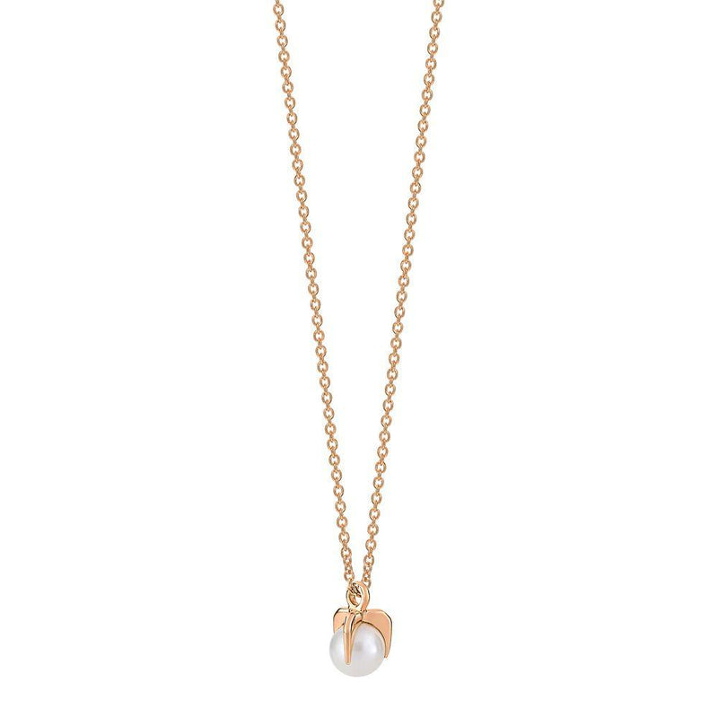 Ginette - maria mini single pearl bead on chain, Pendant