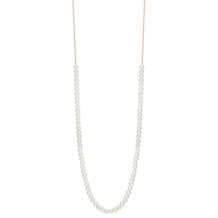 Ginette - maria mini pearl boulier necklace, Necklace