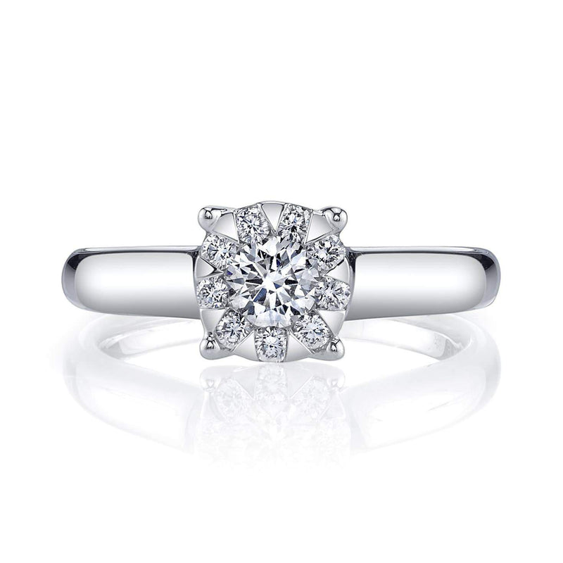 Memoire - Diamond Bouquet Engagement Ring, Engagement Ring