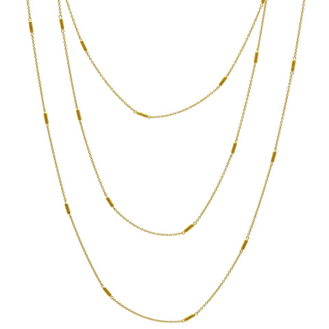 Gurhan Vertigo Pavé Long Necklace Necklace