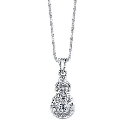 'D290' Diamond Pendant