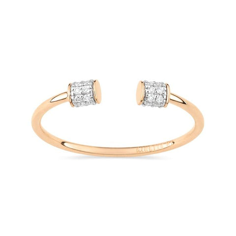 Ginette Single Diamond Choker Ring Ring