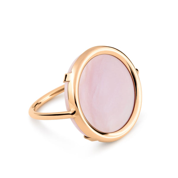 Ginette EVER PINK MOP DISC RING Ring