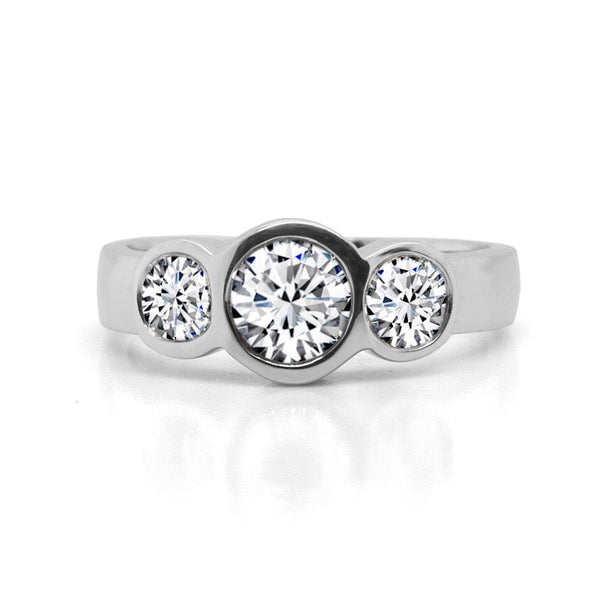 Emerson Fine Jewelry Three Stone Diamond Ring Ring