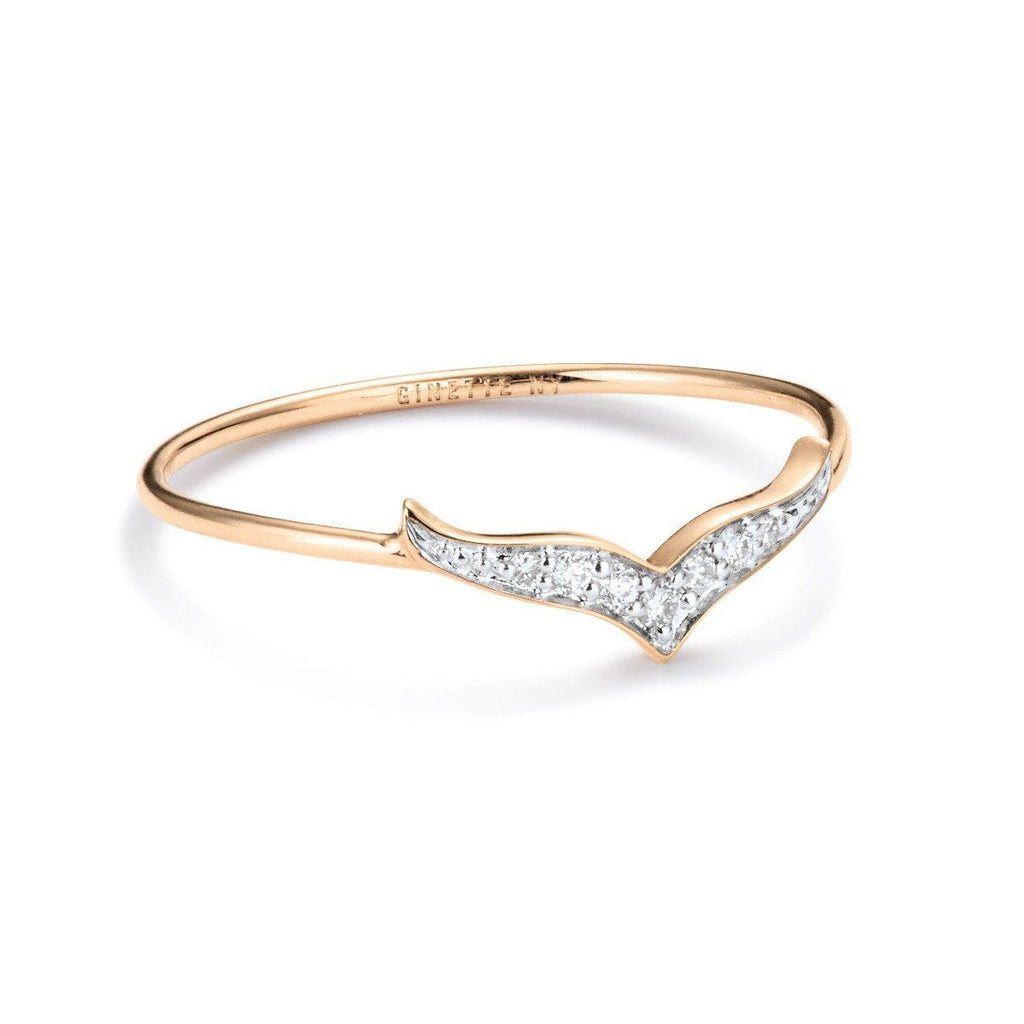 Ginette - Diamond Wise Ring, Ring