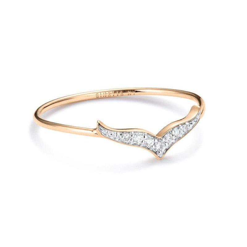 Ginette Diamond Wise Ring Ring