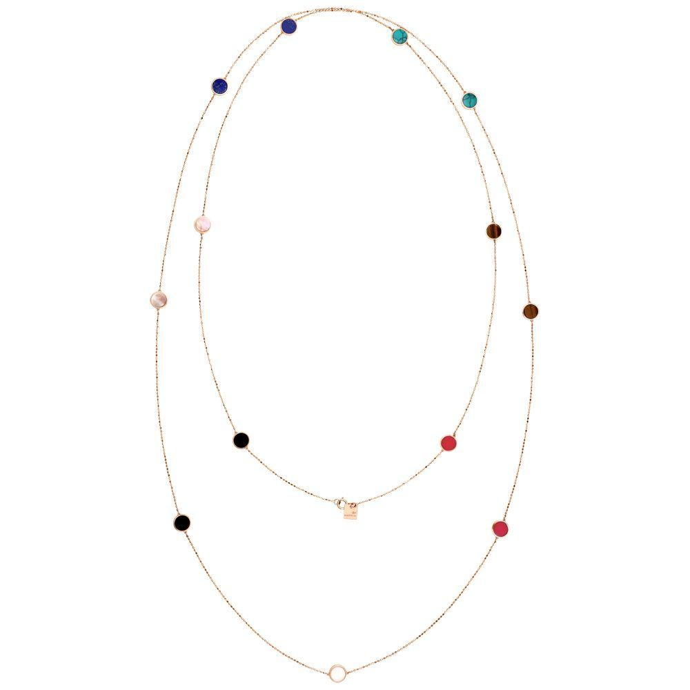 Ginette EVER MULTI STONE SAUTOIR Necklace