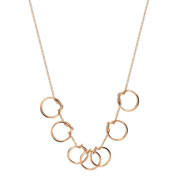Ginette TINY SEVEN CIRCLES NECKLACE Necklace