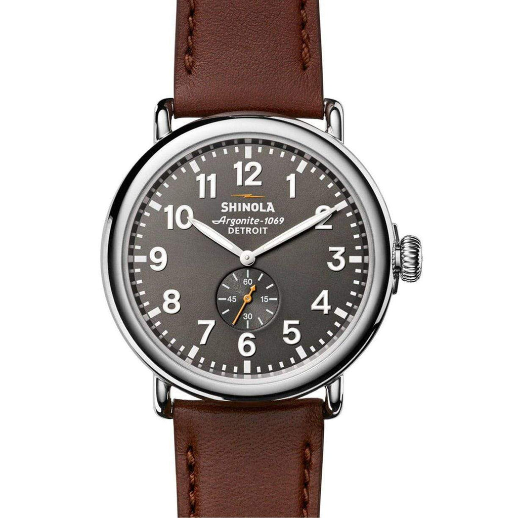 Shinola The Runwell 47mm - Cool Gray Watch