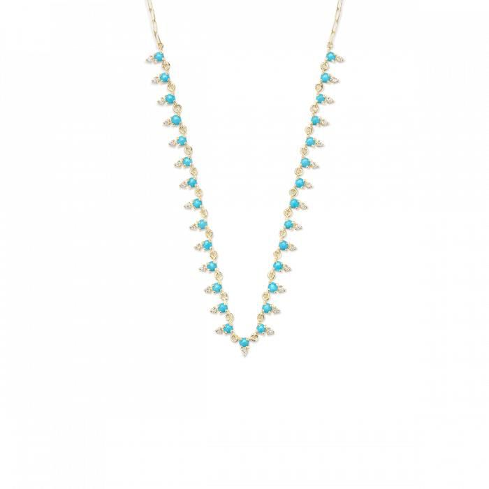 ILA - Deja Diamond and Turquoise, Necklace