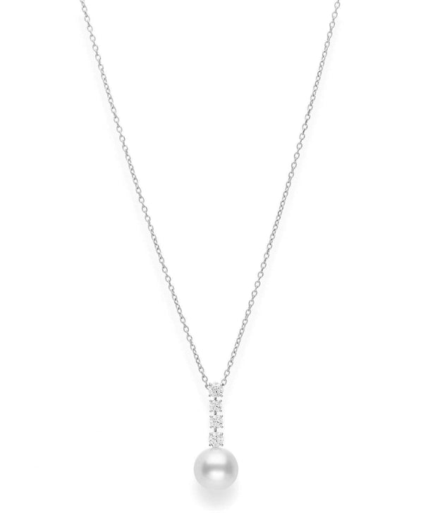 Mikimoto - Pearl Diamond Necklace, Necklace