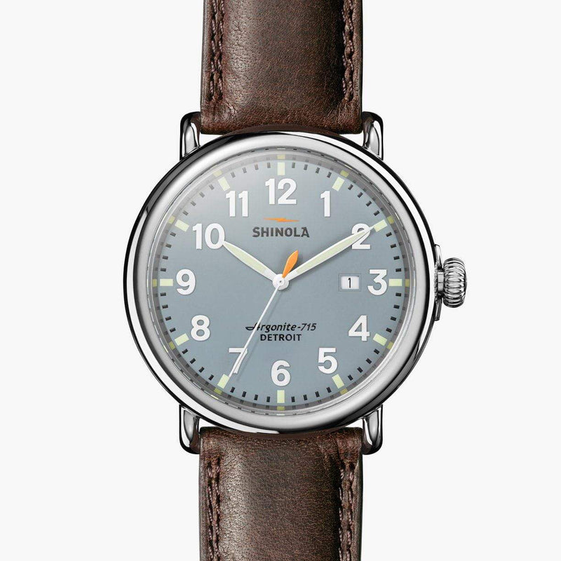 Shinola - The Runwell 47mm - Slate Blue, Watch