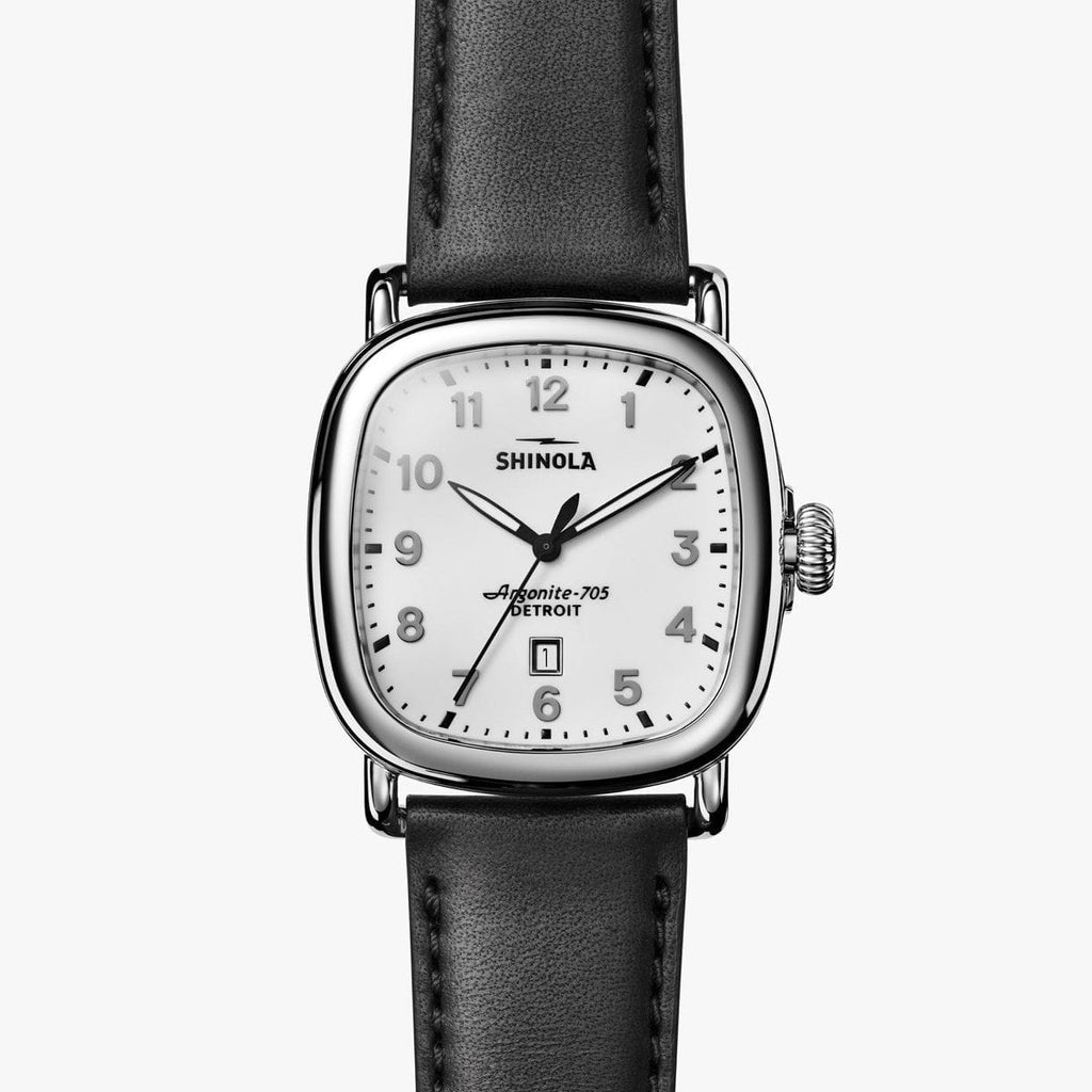 Shinola The Guardian 41.5mm - White Watch
