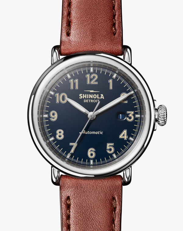Shinola - The Runwell Automatic 45mm - Midnight Blue, Watch